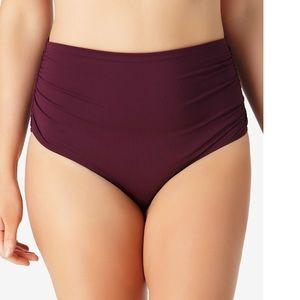 🧜🏼♀️NWT Anne Cole High-Waist Bikini Bottoms
